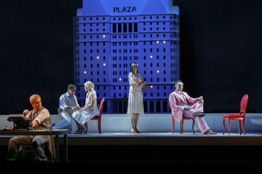 Semperoper Dresden, The Great Gatsby, Premiere 6. Dezember 2015